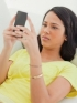Woman Getting Bad Text Message