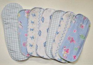 Painted sanitary pads
